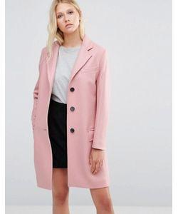 GLOVERALL | Розовое Пальто Chesterfield