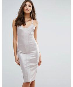 Love | Облегающее Платье На Бретельках