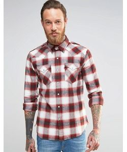 Levi's® | Клетчатая Рубашка В Стиле Вестерн Из Хлопка С Начесом Levis Barstow