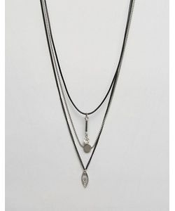 Ashiana | Ожерелье В Несколько Рядов С Бусинами