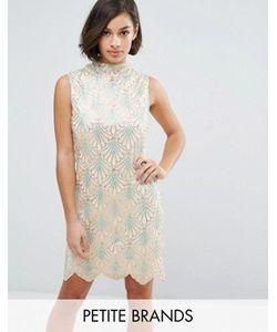 Yumi Petite | Платье С Волнообразным Подолом