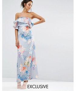 Every Cloud   Платье Макси С Цветочным Принтом