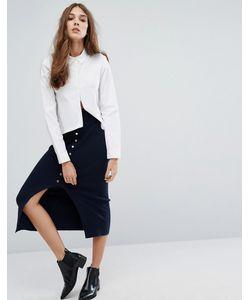 Vero Moda | Юбка Миди С Пуговицами Спереди