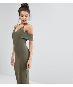 Vesper   Платье-Футляр На Бретельках С Открытыми Плечами