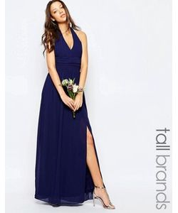 TFNC Tall | Шифоновое Платьехалтер Макси Tfnc Wedding Tall