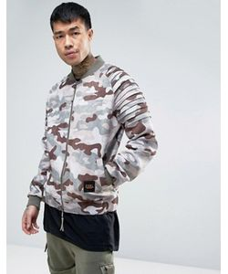 Cayler & Sons | Bomber Jacket In Camo