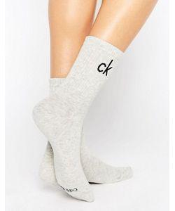 Calvin Klein   Хлопковые Носки С Логотипом Modern