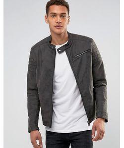 Esprit | Байкерская Куртка Из Кожзаменителя