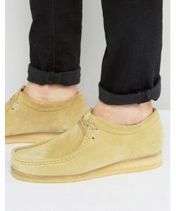 Clarks Originals | Замшевые Ботинки Clarks Orginal Wallabee