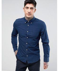 Wrangler | Узкая Рубашка На Пуговицах С Пальмами