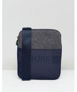 Boss Green   Темно-Синяя Сумка Из Разных Видов Ткани By Hugo Boss