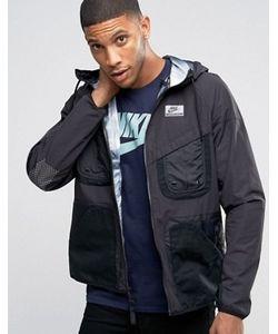 Nike | Черная Куртка С Капюшоном International 802482-010