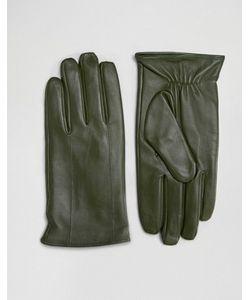 Barney's Originals   Кожаные Перчатки Цвета Barneys