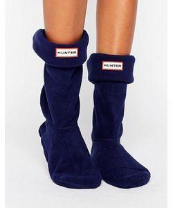 Hunter | Темно-Синие Толстые Носки Original