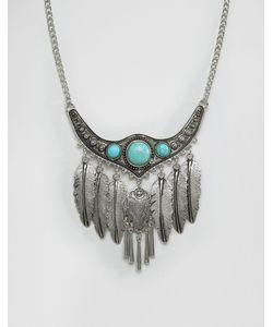 Ashiana | Броское Фестивальное Ожерелье С Листиками