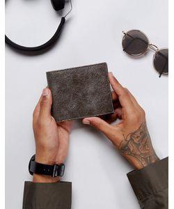 Asos | Кожаный Бумажник С Цепочкой И Потертостями