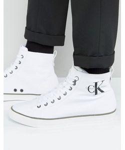 Calvin Klein | Высокие Парусиновые Кеды Arthur