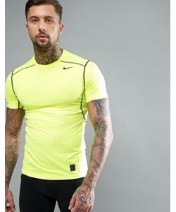 Nike Training   Желтая Футболка 801239-702