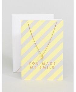 Orelia   Ожерелье You Make Me Smile