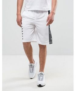 Jordan   Белые Шорты Nike 831334-100