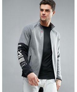 Reebok | Спортивная Хлопковая Куртка One Series Quick