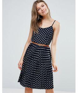 Sugarhill Boutique | Плиссированное Платье Миди
