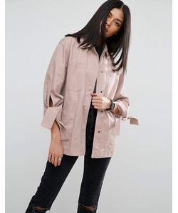 Asos | Куртка С Завязками На Рукавах