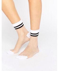 Asos | Полупрозрачные Носки С 2 Полосками