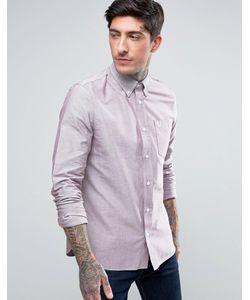 Fred Perry | Оксфордская Рубашка С Длинными Рукавами