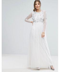 boohoo | Платье Макси С Декоративной Отделкой