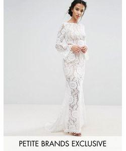 Jarlo Petite | Кружевное Платье Макси С Вырезом На Спине