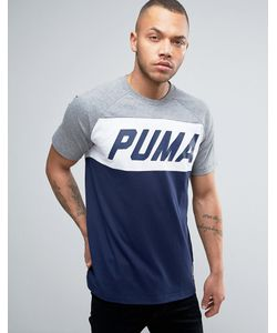 Puma | Футболка Колор Блок 572420 04