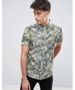 Another Influence | Рубашка С Пальмовым Принтом