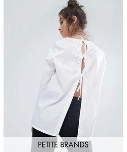 Noisy May Petite | Рубашка С Завязками Сзади