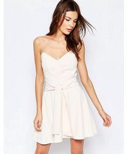 Keepsake | Платье Мини Без Бретелек Get Free