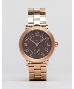 Marc Jacobs | Часы Цвета Розового Золота Riley Mj3489