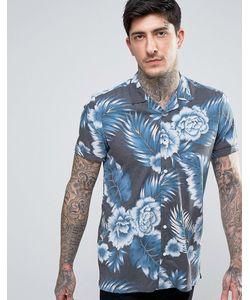 Asos | Рубашка Классического Кроя Из Вискозы С Гавайским Принтом