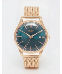 Henry London | Наручные Часы С Плетеным Дизайном Ремешка Stratford