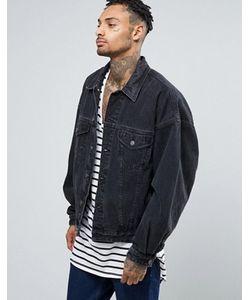 Asos | Выбеленная Джинсовая Куртка В Стиле Oversize