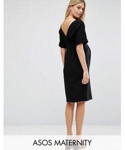 ASOS Maternity | Тканое Платье С V-Образным Вырезом Сзади
