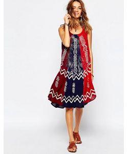 Anmol | Пляжное Платье С Зонтиками