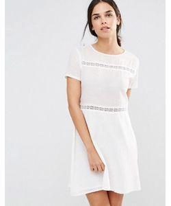 Daisy Street | Свободное Платье С Кружевными Вставками