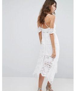 Foxiedox   Платье С Открытыми Плечами Kiera