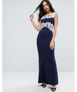 Jessica Wright | Платье Макси С Кружевной Отделкой
