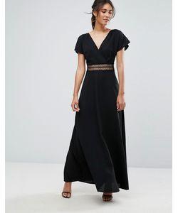 New Look | Платье Макси Со Вставкой Из Кроше На Талии