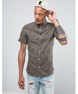Systvm   Рубашка С Леопардовым Принтом