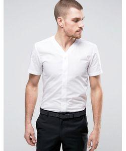 Hart Hollywood | Узкая Рубашка С V-Образным Вырезом И Короткими Рукавами