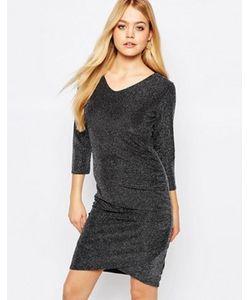 ICHI | Платье С Присборенным На Боку Дизайном Lulu