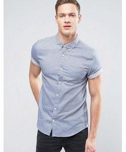 Burton Menswear | Узкая Рубашка С Короткими Рукавами