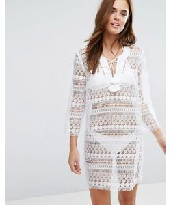 Seafolly | Fringed Lace Tunic